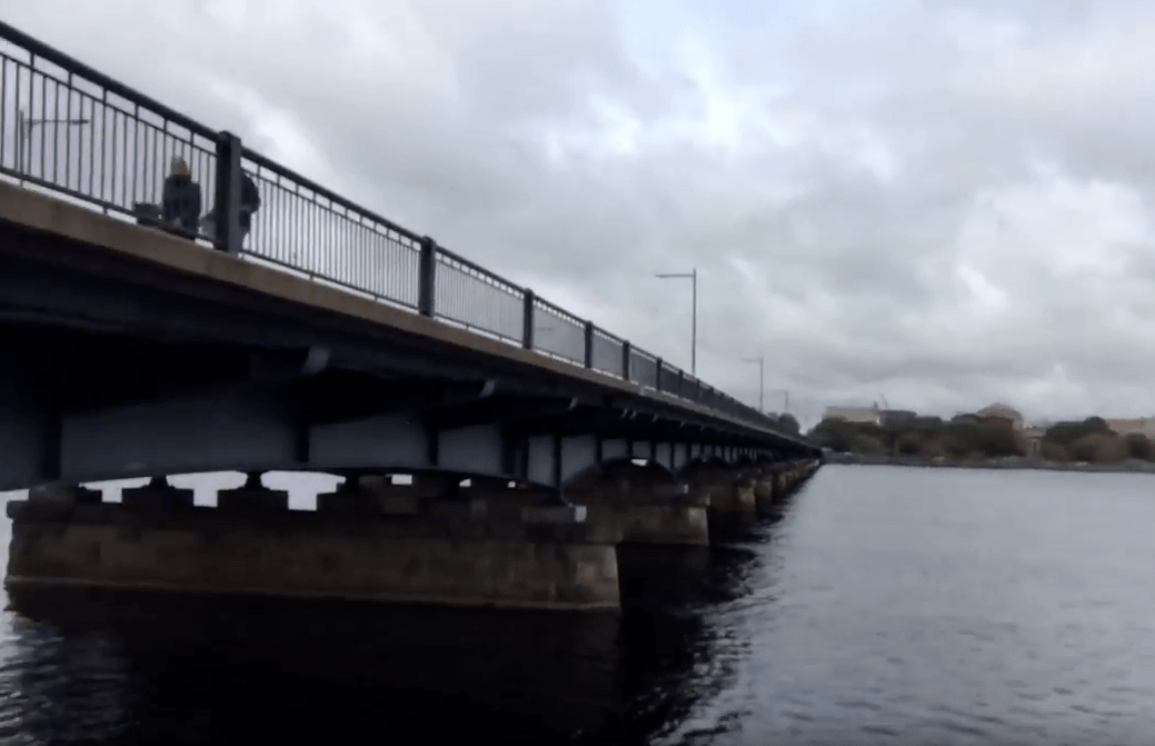 bridge abutments and bridge fishing