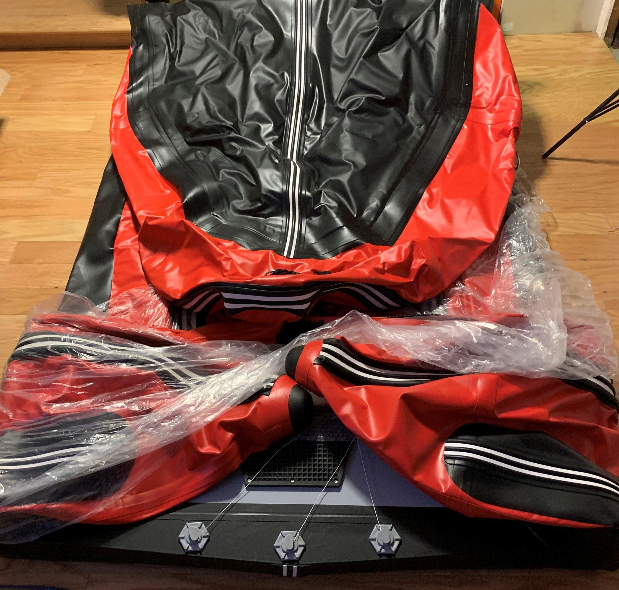 Saturn SD488 Inflatable Fishing Boat Unboxing