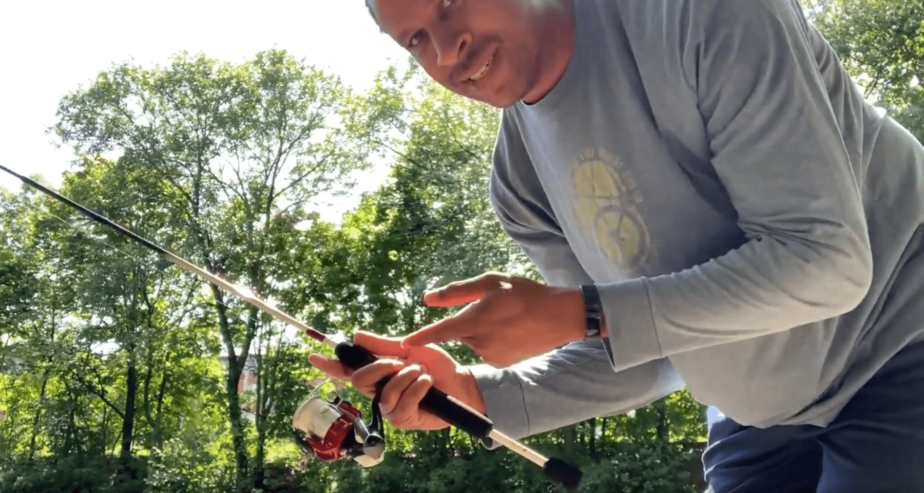 How To Hold A Fishing Rod Right Handed