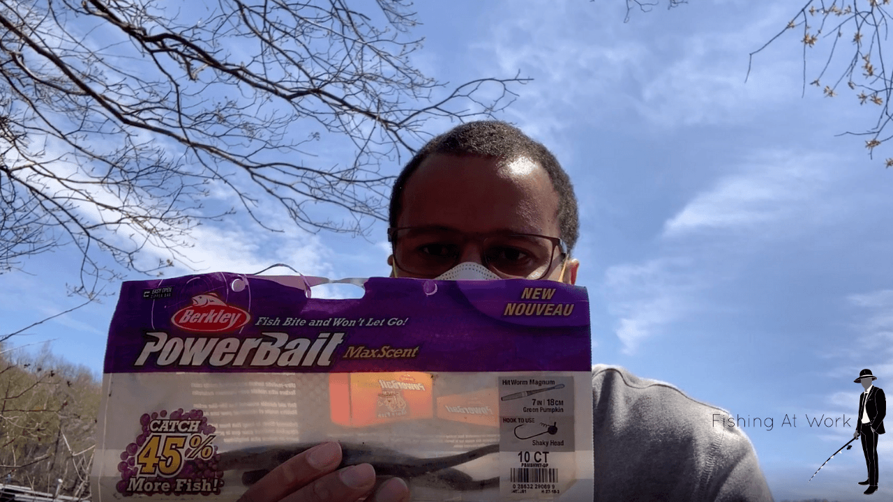 how to fish plastic worms for bass